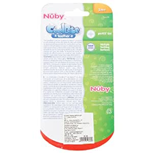 Nuby Teether Rattle/Barbell