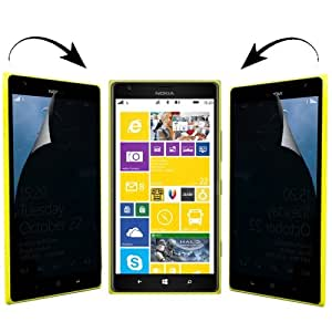Anti Glare 2 Way 180 Degree Privacy Screen Protector for Nokia Lumia 1520 (Japan Materials)