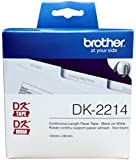 "Brother DK-2214 Continuous Length Tap (100 Feet, 0.47"" Wide)"