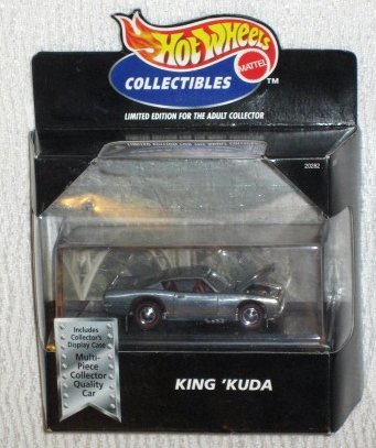Hot Wheels Collectables KING 'KUDA Zamac 1:64 Scale Die Cast Car