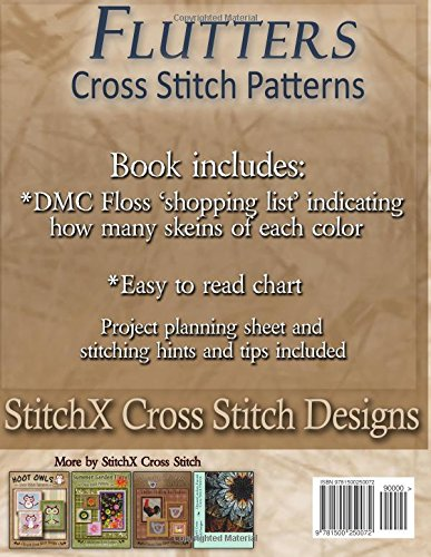 Flutters Cross Stitch Patterns: Beautiful Butterfly Designs