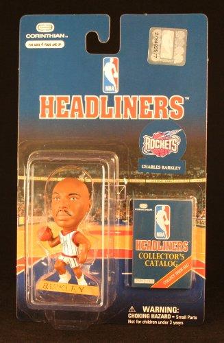 CHARLES BARKLEY / HOUSTON ROCKETS * 3 INCH * NBA Headliners Basketball Collector Figure