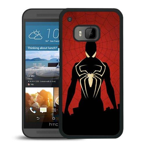 HTC One M9 case,Custom Spiderman Comics Black HTC One M9 cover