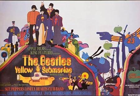 Beatles Poster Yellow Submarine The Beatles Yellow Submarine