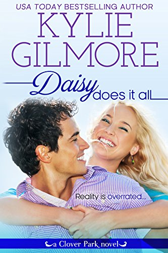 Daisy Garner is shocked when her blog about life with Darling Husband and Baby Delight in their charming Victorian home brings a talk show to her door… Except she made the whole thing up.  Daisy Does It All by Kylie Gilmore