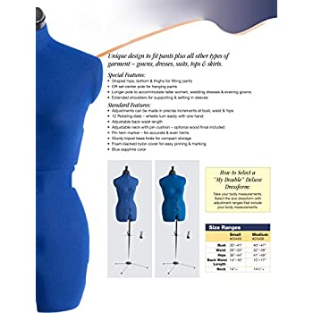 Dritz My Double Deluxe Dress Form, Small