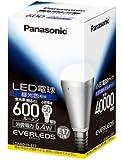 パナソニック LED電球 EVERLEDS 電球50W形相当 密閉形器具対応 E17口金 昼光色相当(6.4W) 小型電球・下方向タイプ LDA6DHE17