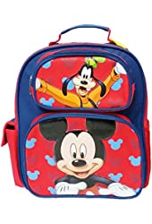 """Disney Mickey Mouse 12"""" Kids Backpack"""