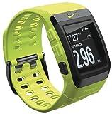 最新カラー!【日本語説明書つき】 Nike+ SportWatch GPS Powered by TomTom Yellow (イエロー) 【フットセンサー付属】 並行輸入品