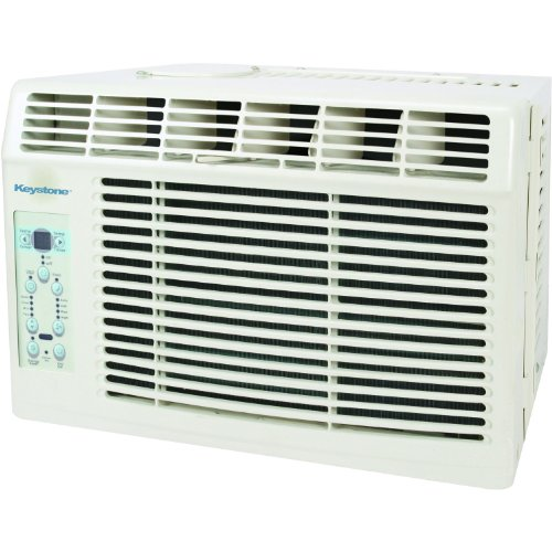 Keystone KSTAW06B Energy Star 6, 000 BTU Window-Mounted Air Conditioner with