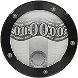 Richbrook 4700.04 Twist-Off Back Tax Disc/ Permit Holder, Black Anodised