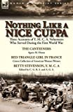 img - for Nothing Like a Nice Cuppa: Three Accounts of Y. M. C. A. Volunteers Who Served During the First World War-The Canteeners by Agnes M. Dixon, Red T book / textbook / text book