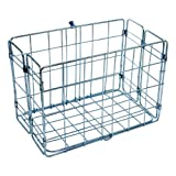 Bicycle Rear Rack Grocery Baskets, Folding - Wald 582 (Set of 2)