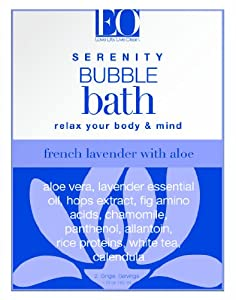 EO Bubble Bath French Lavender, 1.75 Ounce (Pack of 3)