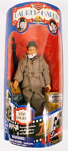 Exclusive Premiere Laurel and Hardy Stan Laurel Figure