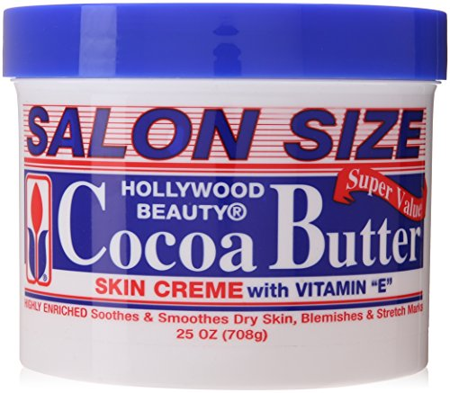 Hollywood Beauty Skin Creme, Cocoa Butter, 25 Ounce by Holly