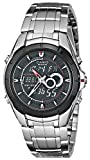 "Casio Mens EFA119BK-1AV ""Ana-Digi Edifice"" Stainless Steel Watch"