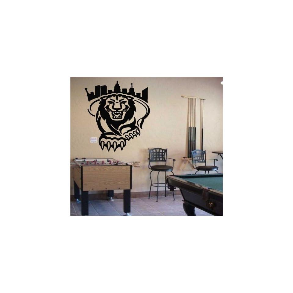 Ncaa Wall Mural Vinyl Sticker Sports Logo Columbia Lions (S163)