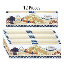 12 Pcs Ceramic Listello Tile Border Chair Rail 3 X 10 | Renovators Supply