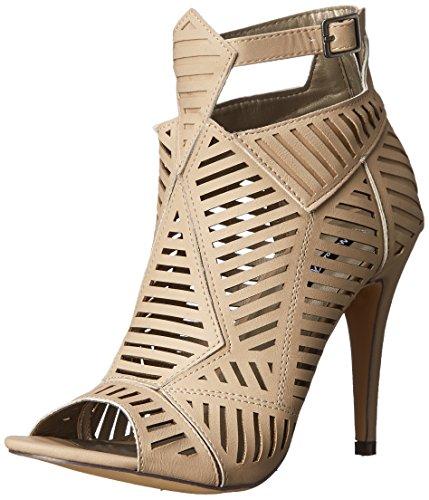 Michael Antonio Women's JYST Dress Sandal, Natural, 9 M US