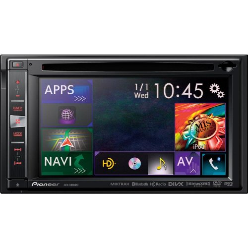 Click to buy Pioneer Double-Din In-Dash HD Radio and Navigation Receiver with NEX Interface Technology, Features a 6.1