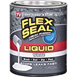 Flex Seal Liquid Large 16oz (White) Brush, Roll, Dip, Pour!