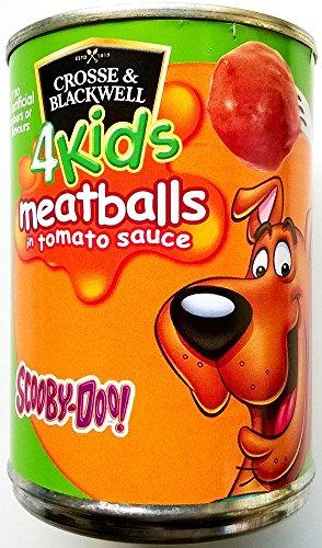 Cross & Blackwell pour enfants Scooby Doo Boulettes de viande à la sauce tomate 3 x 370gm