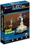 CubicFun Statue of Liberty New York USA 3D LED Puzzle