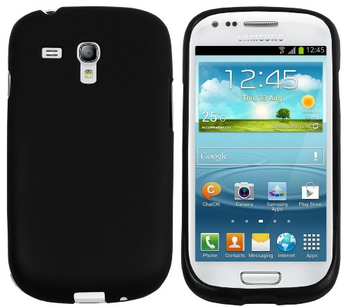 mumbi TPU Schutzhülle Samsung Galaxy S3 mini Hülle schwarz