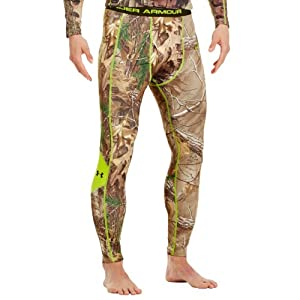 Under Armour Mens ColdGear® Evo Scent Control Leggings by Under Armour