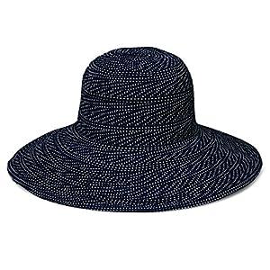Wallaroo Women's Scrunchie Sun Hat - Lightweight and Packable Sun Hat - UPF 50+, Black