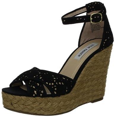 3b1cd38cfdd Steve Madden Women's Marrvil Wedge Sandal