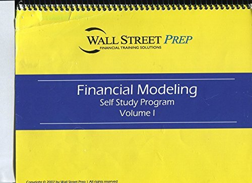 Wall Street Prep Self-Study Financial Training Solutions. [Spiral-bound] [Jan 01, 2008] Editor (Lbo Model compare prices)