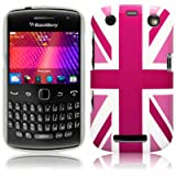 Blackberry Curve 9360 'Cool Britannia Pink' (Designed by Creative Eleven) TPU Gel Skin / Case / Cover Part Of The Qubits Accessories Rangeby Qubits