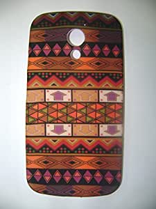MOC MULTICOLOUR RAJASTHANI PRINTED SOFT SILICON FULL PROTECTION CASE FOR MOTOROLA MOTO G 2ND GEN