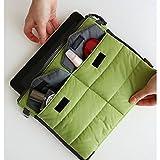 PackNBUY GREEN Cushioned Electronics Storage Bag