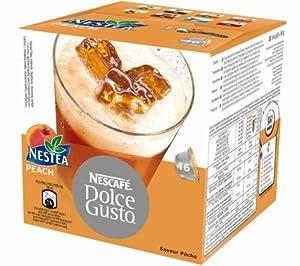 NESCAFE Accessories - 16 Dolce Gusto Nestea Peach capsules
