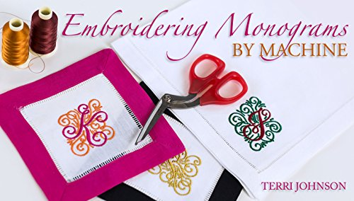 Embroidering Monograms by Machine (Brother Pe Design Next compare prices)
