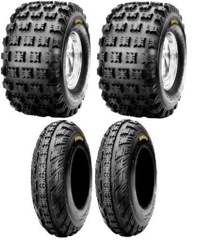 NEW Front & Rear ATV 4 Tires Tire Set 20X10/9 21X7/10 20x10x9 21x7x10 Honda 250R 400EX 450R ATC TRX Yamaha Raptor YFZ450 (Yamaha Atv Tires compare prices)