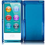 DGOO(TM) Clear skyblue Crystal Hard Snap-On Skin Case Cover for New Apple iPod Nano 7th Generation 7G 7