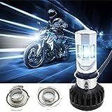 FEELDO H6M/H4/P15D25-3/S2(BA20D) 4in1 30W 6000K H4 Hi/Lo 6PCS COB LED Motorcycle/Bike Headlight Headlamp Kits