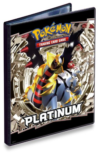 Ultra Pro Pokemon Card Game Supplies 4-Pocket Portfolio Mini Binder - Platinum Giratina! OUT OF PRINT!!