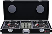Odyssey CBM10 Carpeted Dj Coffin For A 10 Mixer And 2 Turntables In Battle Position With Recessed Hardware