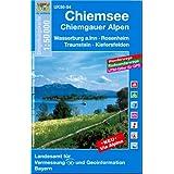 Chiemsee, Chiemgauer Alpen 1 : 50 000: Wasserburg a.Inn. Rosenheim. Traunstein. Kiefersfelden. Mit Wander- und...