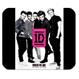 One Direction Customized Rectangle Mousepad 1D Boy Band Mousepad