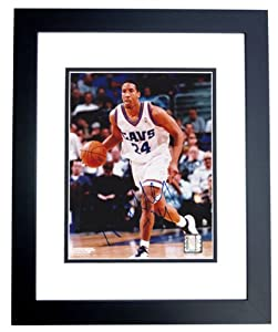 Andre Miller Autographed Hand Signed Cleveland Cavaliers 8x10 Action Photo - BLACK... by Real+Deal+Memorabilia