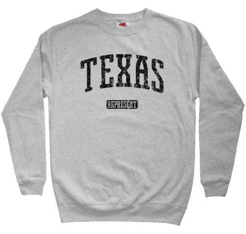 все цены на Smash Vintage Men's Texas Represent Sweatshirt онлайн
