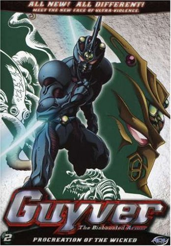 Guyver   The Bioboosted Armor Procreation of the Wicked