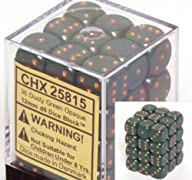 Dusty Green 12mm D6 Opaque Dice Block…