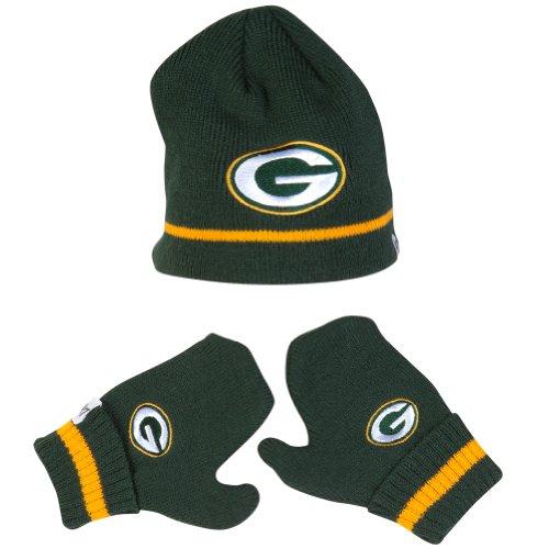 Nfl Green Bay Packers Infant Stripe Knit Set, Dark Green front-789627